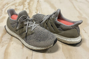 Adidas Men's Ultra Boost Brown Running Shoes Size 8 USED