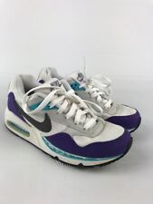 Women's Nike Air Max Correlate Sz 7 Shoes #511417-153 White Purple Turquoise