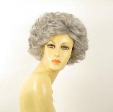 Parrucca donna ricci corta grigio : kimberley 51