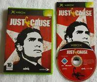 Just Cause ORIGINAL XBOX (PAL UK VERSION) VGC FAST FREE UK POST