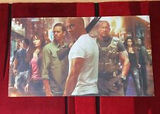 Fast & Furious Fabric Poster - 3.5ft x 1ft