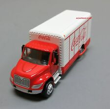 Coca Cola Beverage Truck 1/87 Diecast Model with Display Case
