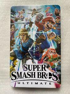 Super Smash Bros. Ultimate Steelbook Case (Nintendo Switch NO GAME DISC) Sealed