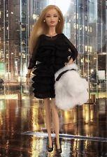 Barbie Juicy Couture Beverly Hills Gold Label Black Dress Shoes Clothes 2008