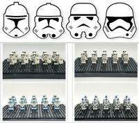 Star Wars Stormtrooper Mini figuren Set Bausteine Fit Lego Clones Armee Sammlung