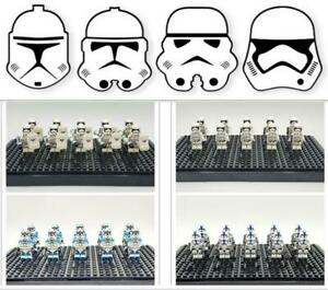 Star Wars Mini figures Lot Fit Lego Stormtrooper Clones Army Building Collection