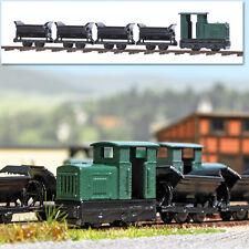 Busch 8070 ESCALA N, Set de ferrocarriles vía estrecha # NUEVO EN EMB. orig. #