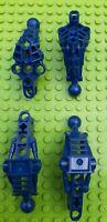 LEGO Bionicle 2x Av-Matoran Leg Sections 60899 & 2x Arm/Leg Upper Sections 60900