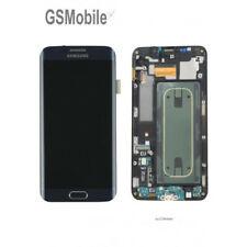 Pantalla original marco para Samsung Galaxy S6 Edge Plus G928f negra
