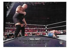 2015 Topps WWE Crowd Chants Oh No #6 Big Show
