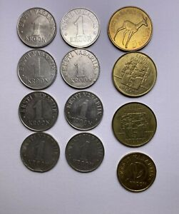 Estonia Coin 12 pcs.