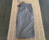 Women's Lululemon Gray Dance Studio Pant Activewear Pants Size 10 L Long