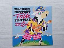 Ben & Jerry's Newport Folk Festival '88 Live 1989 Alcazar ALC-105 Orig Press NM-