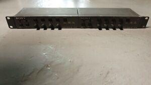 Dual Sony UVR-60 TBC Remote Control UVR60