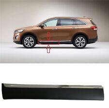 Front Door Lower Molding 2016-17-18 Sorento Left Driver Side Garnish With Chrome