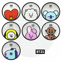 BTS BT21 Official Authentic Goods Coaster By YUYU + Tracking