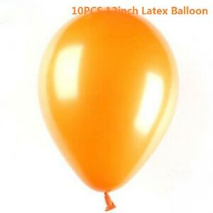 "10pcs 12"" Metallic Confetti Balloon Birthday Party Celebration Home Decoration"