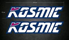 KOSMIC Stickers/Decals - 2 x 200mm x 42mm - Karting - Go-Kart