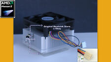 AMD Phenom II Heatsink Cooler Fan for X4 905e 910e B93 B95 SocketT AM2+ AM3 New