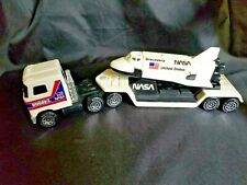 Buddy L 1980 Nasa Semi Mack Truck & Trailer With Space Shuttle Discovery.