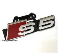 Neuf S5 Badge Grille Autocollant Emblème Logo Signe S A5 RS5 Rs Audi Calandre