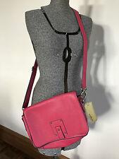 BNWT Milleni Australia pink with purple edging handbag shoulder bag adjustable