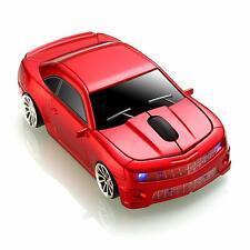 BKLNOG Wireless Car Mouse with LED Headlights 1600 DPI Sports Car Shaped