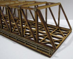 "Trackside Models - N Scale - Laser Cut ""Dual Truss Bridge""  - SM051"