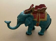 Vintage Cast Iron Mechanical Circus Elephant Coin Piggy Bank
