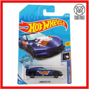Corvette C7R HW Race Team Track Stars Diecast 8/10 193/250 by Hot Wheels Mattel