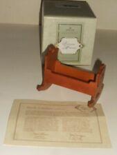 Hallmark Victorian Memories Toy Cradle Limited Edition New In Box