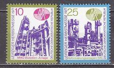 GERMANY - DDR 1971 MNH** SC# 1324 - 1325 Leipzig Fall Fair