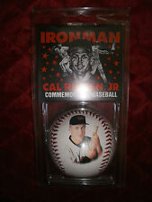 MLB IRONMAN CAL RIPKIN JR COMMEMORATIVE BASEBALL WITH CERTIFICATE F AUTHENTICITY