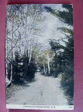 Old postcard Monadnock Mt. NH