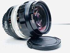 Nikon Nikkor-O.C. 35mm f2 Non Ai Manual Focus Lens EXC+++
