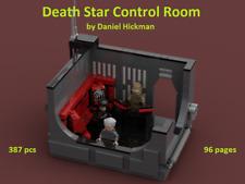 *custom* Lego Star Wars Death Star Control Room - INSTRUCTION MANUAL ONLY