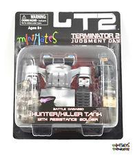 Terminator 2 T2 Minimates Battle Damaged Hunter/Killer Tank & Resistance Soldier