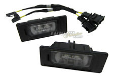 2x Original Audi LED Kennzeichenbeleuchtung + CanBus Anschluss Adapter Kabel #8K