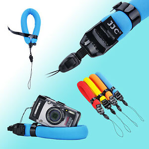 Blue Floating Wrist Strap Diving Foam Waterproof DC Camera Afloat GoPro TG-4 JJC