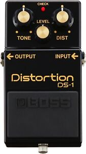 Boss DS-1 Distortion Pedal Guitar Classic Rock Board Necessity Boost Drive - UC