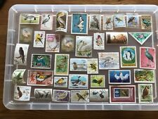 Thematic Stamps Birds-unchecked collection