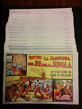Le Avventure di Cino e Franco 1-17 completa Nerbini 1973 condizioni molto buone