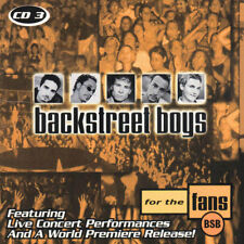 Backstreet Boys For The Fans CD #3 (Feat. Live & Rare Tracks) CD Sealed NEW!