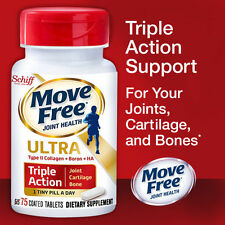 Schiff Move Free Ultra Triple Action, 75 Tablets New!!