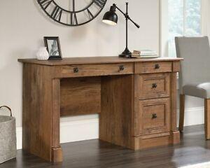 SAUDER Palladia Vintage Oak Computer Desk