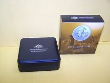 2011 $1 Kangaroo Series - Allied Rock Wallaby 1oz Silver Proof Coin