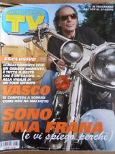 TV Sorrisi e Canzoni n°39 2009 Copertina Speciale di Vasco Rossi  [D48]