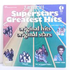 "2 x 33T SUPERSTARS GREATEST HITS Vinyles LP 12"" HOLLIES DR HOOK STORIES J. NASH"
