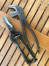 Zwickzange, Lederschere. Schuster, Schuhmacher, Sattler Werkzeug.