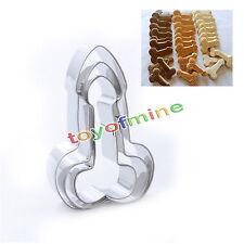 3pcs Edelstahl Penis Ausstechform Mould baking Fondant-Kuchen-Form